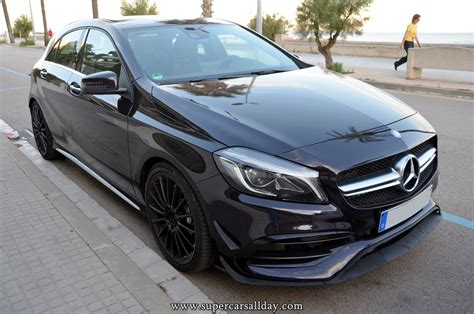 mercedes supercar 2016 mercedes a45 amg 2016 supercars all day