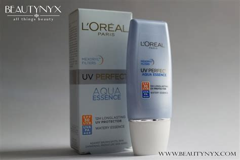 Loreal Aqua Sunscreen l oreal uv aqua essence spf 30 review b e a u