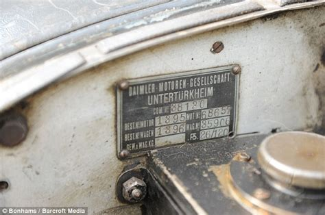 100mph 1928 mercedes found after 60 years of rusting away