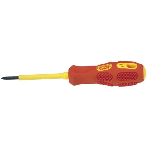 Defi Tipe Ns Uk 60mm draper no 0 x 60mm insulated pz type screwdriver draper