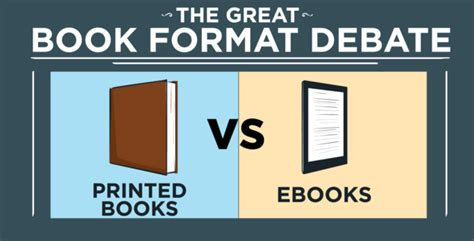 the better books the great e books vs print debate
