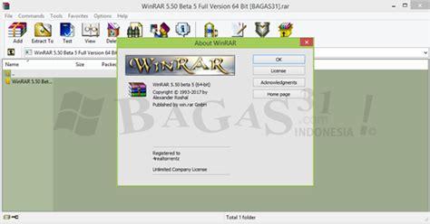 7zip bagas31 winrar 5 50 beta 5 full version bagas31 com