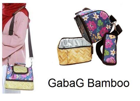 Gabag Sling Big Bamboo Tas Asi gabag bamboo breastmilk coolerbag aka tas pendingin asi asibayi