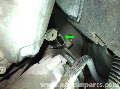 Mercedes Benz W210 Crankshaft Position Sensor Replacement