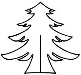 christmas tree template cut and paste activity coloring