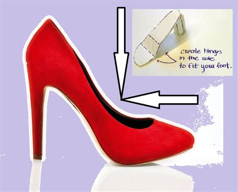How To Make A High Heel Shoe Out Of Paper - egfi for teachers 187 fancy