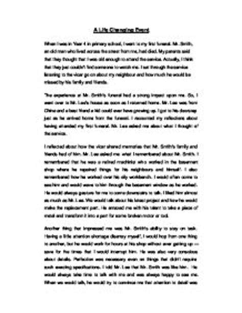Changing Moment Essay by Changing Event Essay