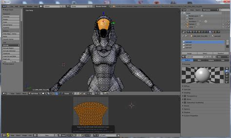 import psk to blender tutorial editing meshes with multiple uv maps in blender