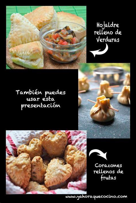 cocinar con hojaldre recetas faciles recetas de hojaldres dulces o salados gt 10 recetas