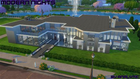 mod the sims glenridge hall the mansion from tv series the mod the sims modern nights high end modern mansion no cc