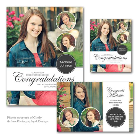 yearbook ad templates for word senior yearbook ad set
