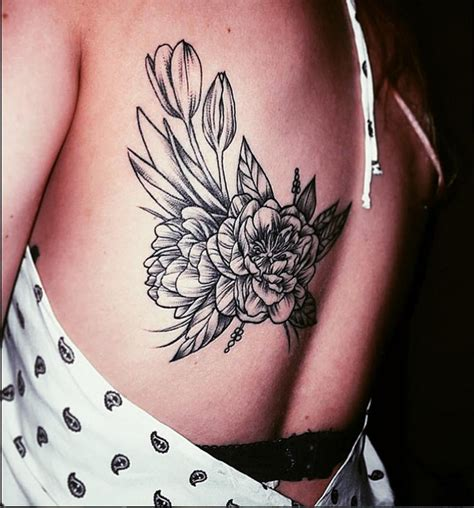 tattoo back instagram vintage floral on back instagram michaelbalesart by
