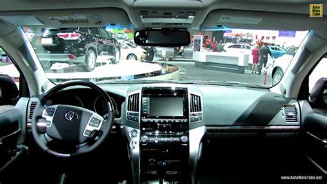 2014 Toyota Land Cruiser Interior 2014 Toyota Land Cruiser At 2013 Los Angeles Auto Show