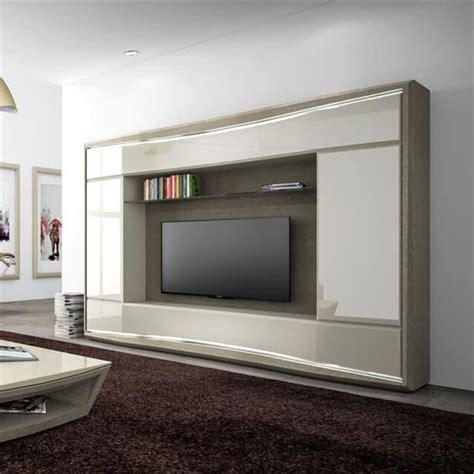 mobili per tv a parete parete porta tv l270 h200 p50 mobili per tv