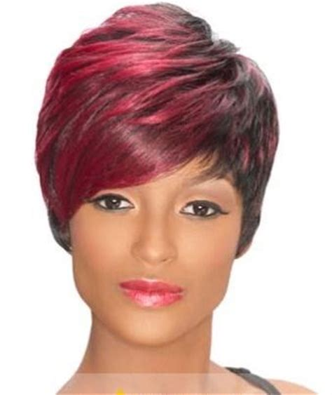 african american spiked wigs 8 inch faddish short curly red african american wigs for women