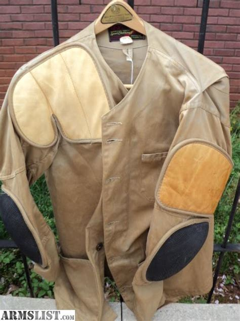 shooting for sale armslist for sale 10x shooting jacket men s 42