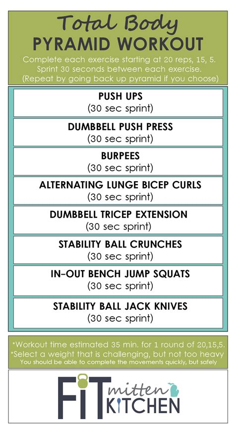 bench press pyramid routine weight training workout 3 pyramid fit mitten kitchen