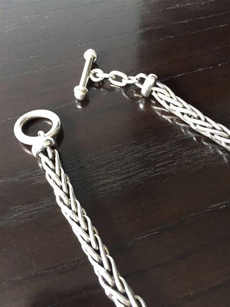 cadena de plata torzal para hombre cadena gruesa de plata ley 9 25 tipo torzal broche de