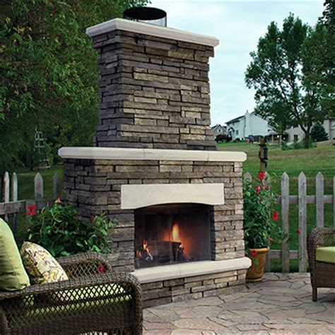outdoor fireplace kits brick ovens paver fireplaces