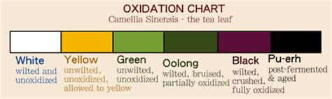 Oxidation ? Pouring Tea
