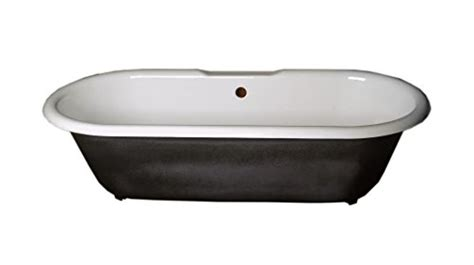 paint for cast iron bathtub black cast iron clawfoot tub interior porcelain glaze