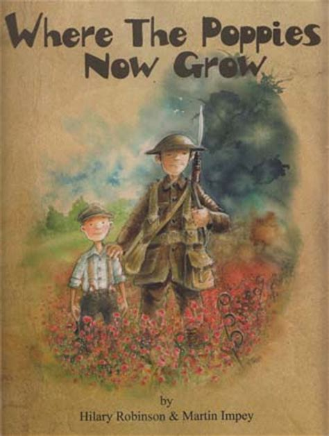 where the poppies now grow the poppy series hilary ann robinson martin impey 9780957124585 owling about the illustration blog of hannah foley page 6