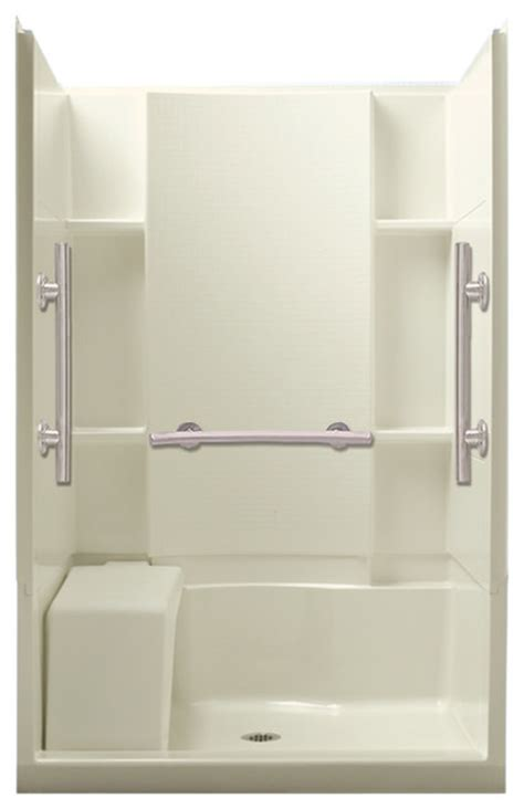Sterling Shower Units by Sterling Accord 36 Quot X48 Quot X74 5 Quot Vikrell Alcove Shower Kit