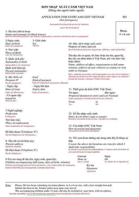 Lettre Au Consulat De Pour Demande De Visa Formulaire Visa Tourisme