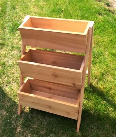 diy herb garden box ana white build a 10 cedar tiered flower planter or