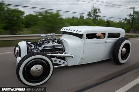 Bobby Car Aufkleber Hot Rod by A 28 Tudor That S Chopped All To Hell Speedhunters