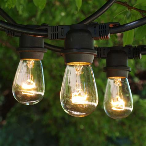 Outdoor Garden String Lights Commercial Outdoor String Lights Ideas