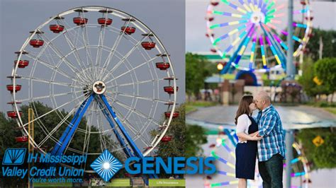 genesis health services foundation bandits to donate part of every ferris wheel ride ticket