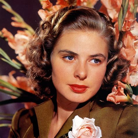 in color turner classic ingrid bergman in a color