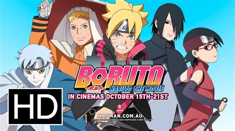 film boruto youtube boruto naruto the movie official full trailer youtube