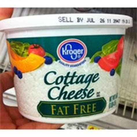 kroger cottage cheese free calories nutrition