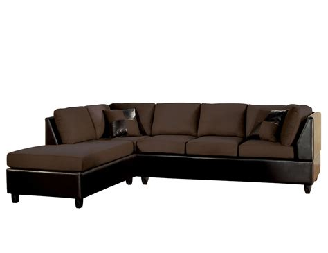 small leather sectional sofa with reclining back