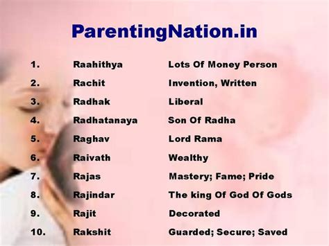 names with meaning this slide contains tula rashi baby boy names with meanings list of beautiful names