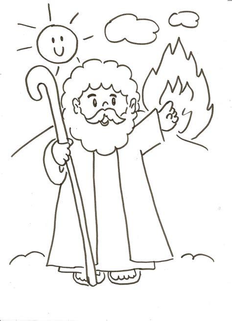 imagenes biblicas para colorear de moises evangeliza mois 233 s com cajado para colorir