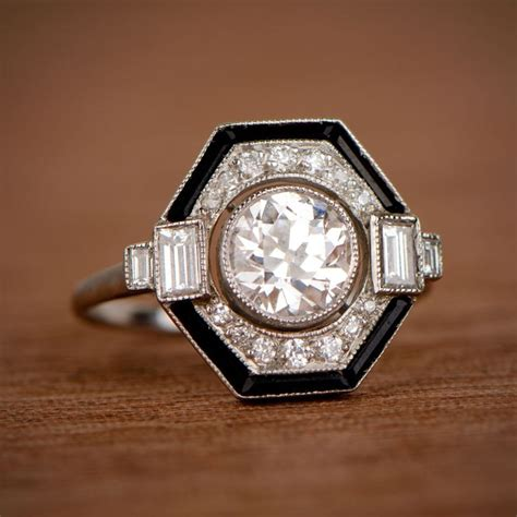 Deco Engagement Rings by 25 Best Ideas About Deco Engagement Rings On