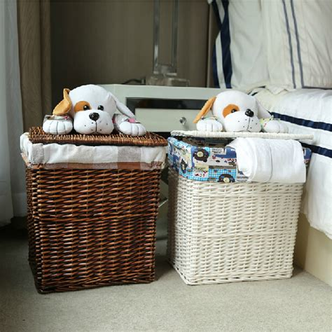 Wicker Laundry Her Corner Wicker Laundry Her With Wicker Laundry Hers With Lids