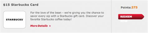 Huggies Gift Card - huggies enjoy the ride rewards 15 starbucks gift card for 375 points
