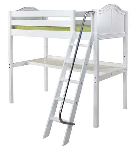 Bunk Bed Ladders Only Maxtrix High Loft Bed W Angle Ladder Size