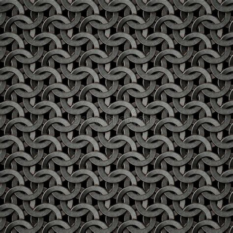 chainmail texture stock illustration illustration of