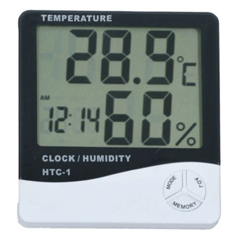 House Humidity Meter Thermometer Indoor Digital Lcd Hygrometer Temperature