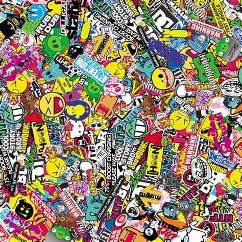 Wallpaper W005 Wallpaper Sticker Limited 150cmx50cm stickerboom graffiti car vinyl wrap glossy