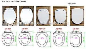 Difference material of toilet seat cover pvc pp uf mdf resin