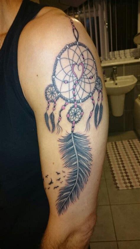 dreamcatcher shoulder tattoo 50 dreamcatcher tattoos on shoulder