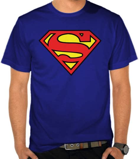 Tshirt Superman Baju Kaos Superman jual kaos superman logo superman satubaju
