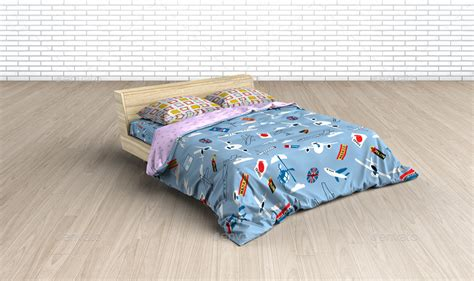 Bed Linens Mock Up Bed Linens Mock Up Bedding Set Template By Ayashi