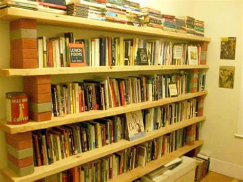 brick and barn board bookcase search lofty